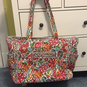 Vera Bradley Hope Garden Get Carried Away Tote